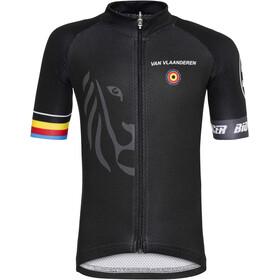 Bioracer Van Vlaanderen Pro Race Kortærmet cykeltrøje Børn, black
